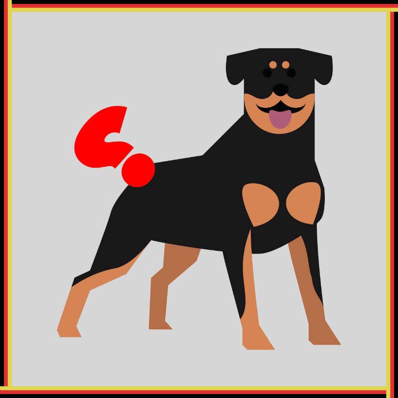 Do Rottweilers have tails?