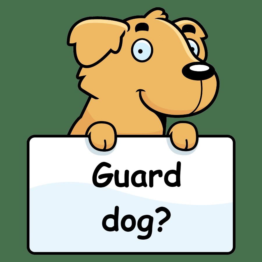 Are Golden Retrievers good guard dogs?