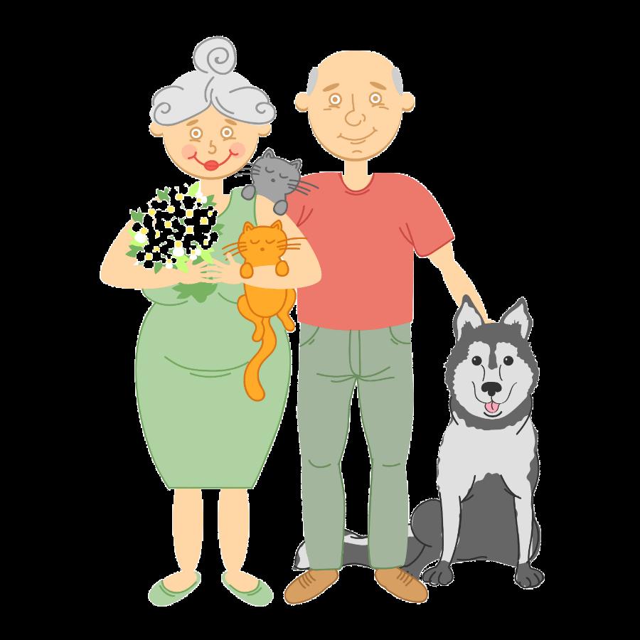 Are Siberian Huskies good family pets?