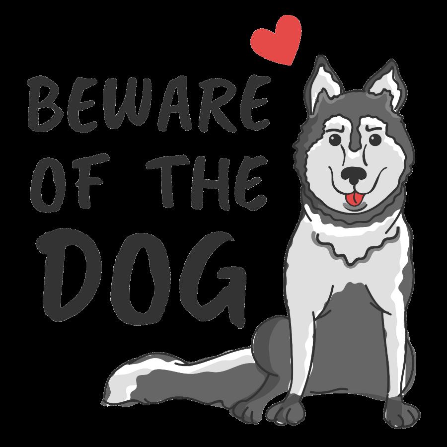 Are Huskies good guard dogs?