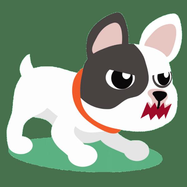 are French Bulldogs aggressive?