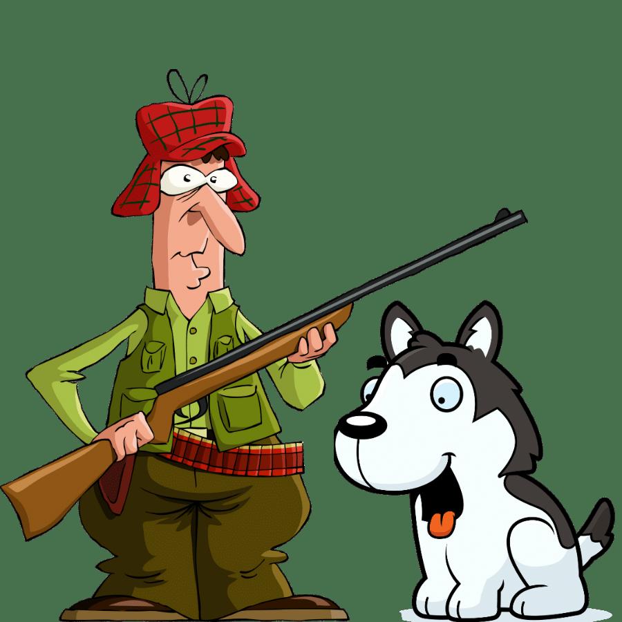 Are Huskies good hunting dogs?