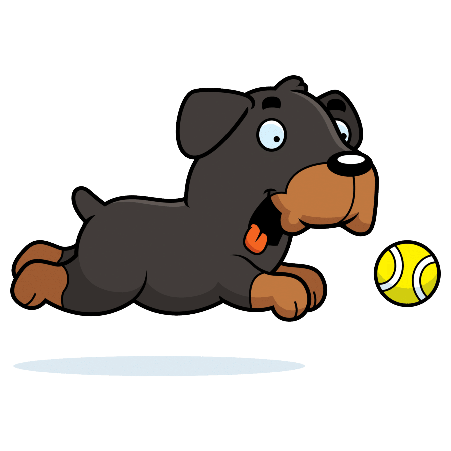 How fast can Rottweilers run?