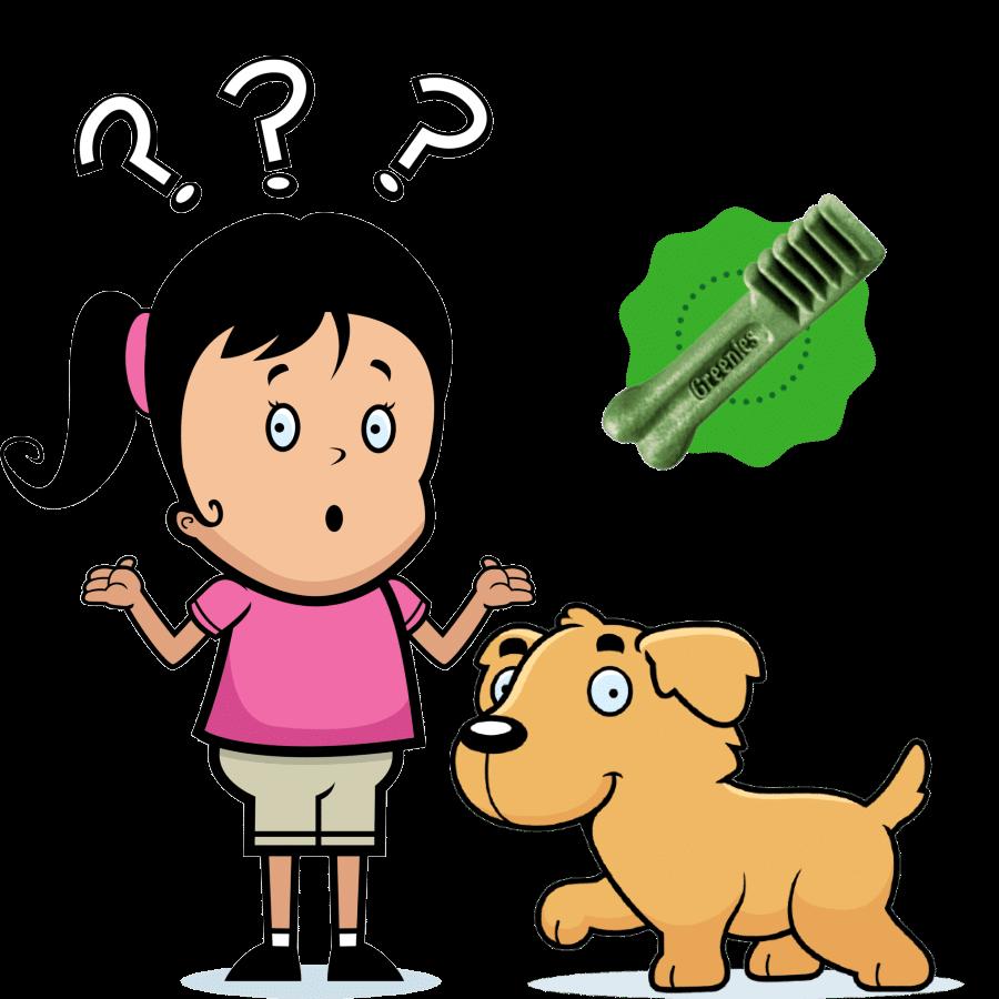 How do Greenies help dog's teeth?